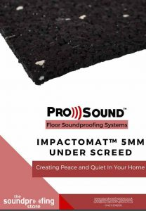 ImpactoMat 5mm Under Screed