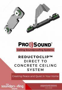 ReductoClip Concrete Ceiling